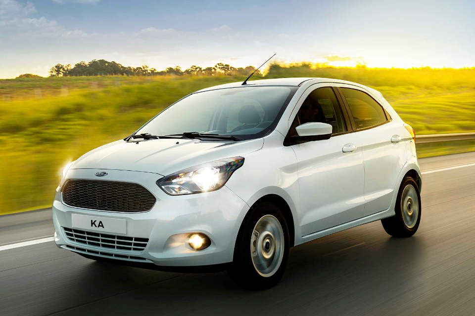 The 2015 Ka hatch for Brazilian markets.