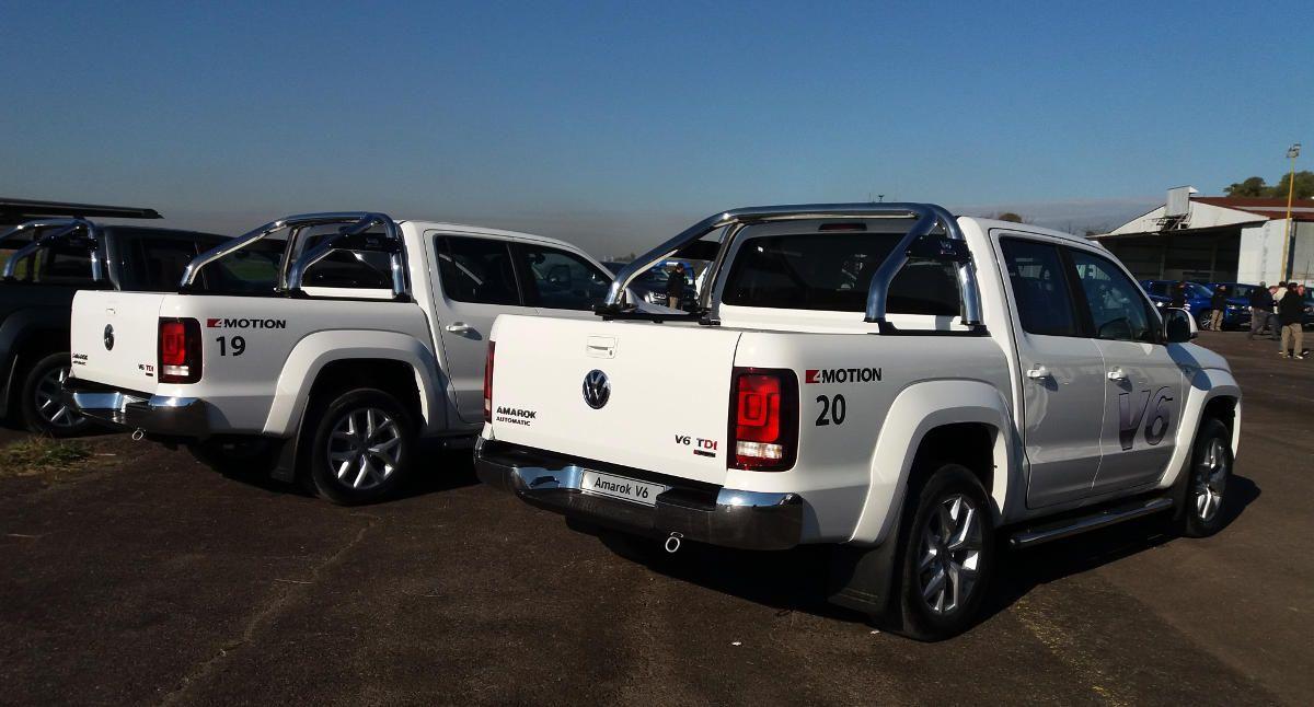 En Argentina  Volkswagen Amarok V6